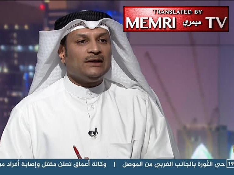 "Kuwaiti Journalist: No ""Essence of Freedom"" in Islam; the Brainwashed Islamic Peoples Are Time Bombs"
