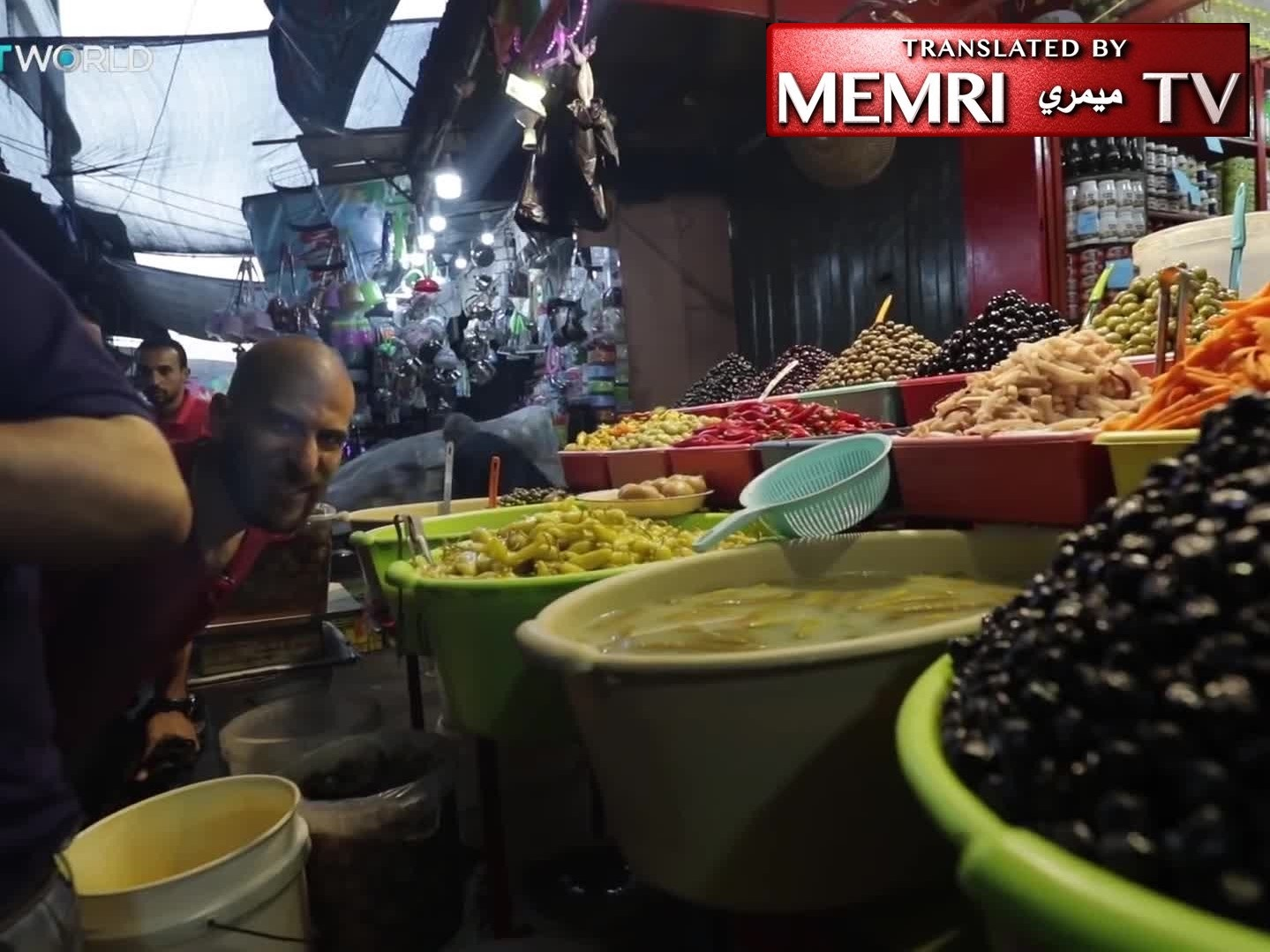 Turkish TV Reporter Visits Gaza Market and Mosque in Ramadan