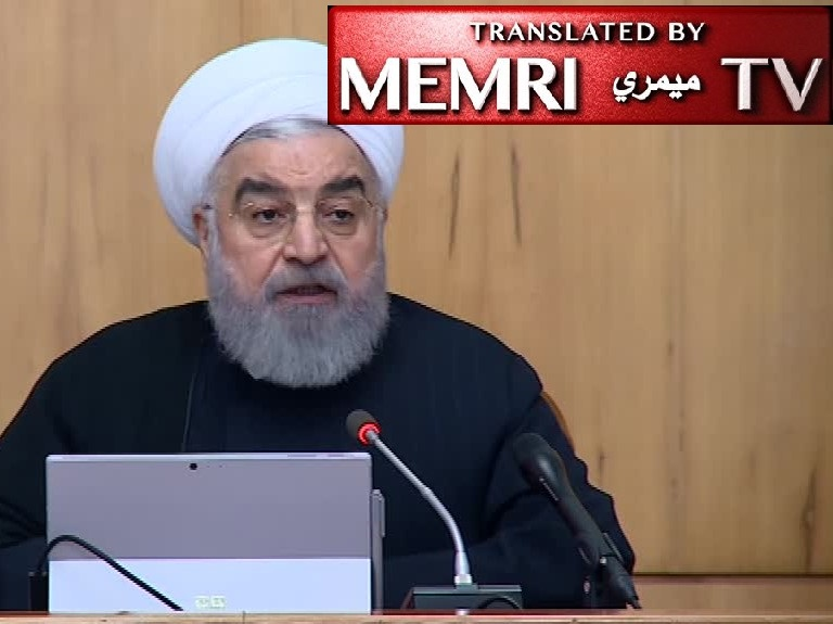 Iranian President Rouhani: Protests and Riots Are Two Different Things; If Roads Are Blocked, We Can Identify Cars and Their Drivers; We Can't Export More Oil or Raise Taxes, So We Must Reduce Fuel Subsidies