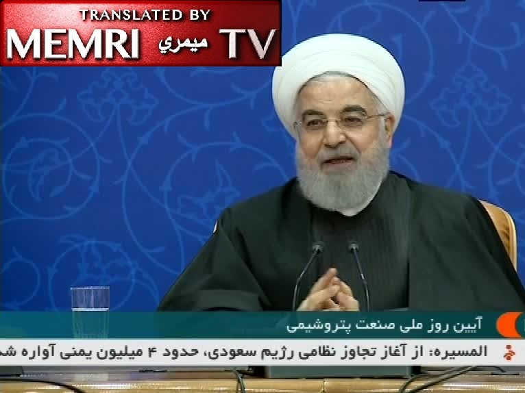 Iranian President Rouhani: In This Time of War, We Cannot Keep Election Promises We Made at Time of Peace