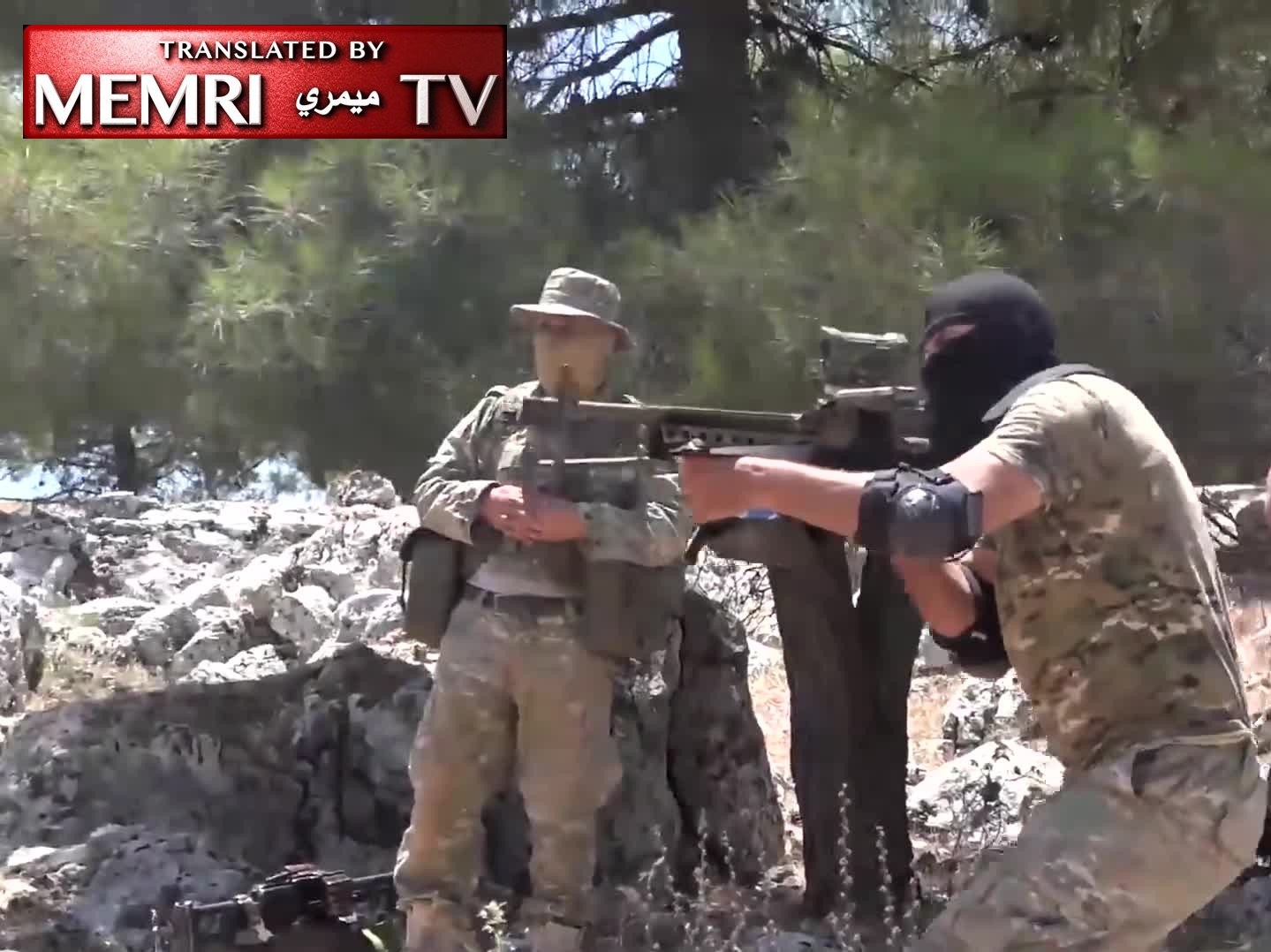 New Video Shows Russian Instructors Training Militants in Syria