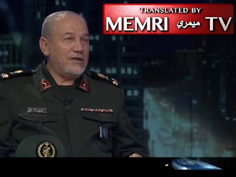Khamenei's Special Military Advisor General Yahya Safavi: Our Scope of Defense Stretches from the Mediterranean Sea to the Indian Ocean