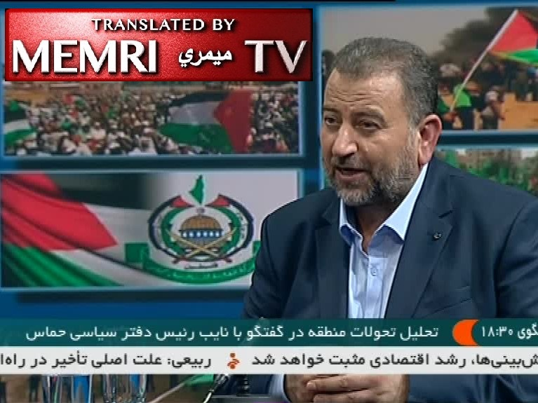 Hamas Official Saleh Al-Arouri on Iranian TV: Iran, Hizbullah Have Helped the Palestinian Resistance Advance; Khamenei Is the Greatest Leader in the Islamic World