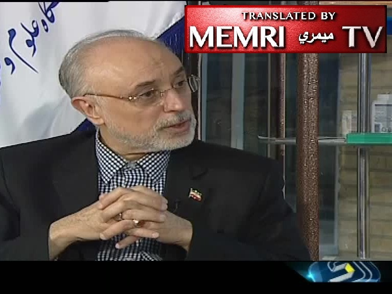 Iranian Atomic Energy Chief Salehi: We Needed 10 Years for Centrifuge Testing Regardless of JCPOA; We Have Enough IR1 Centrifuges Despite What U.S. Thought; New Centrifuges Ready for Industrial Production