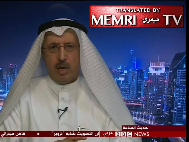 Former Kuwaiti Information Minister Sami Abdullatif Al-Nesf: Our Arab Societies Suffer from a Chronic Disease of Lies and Falsification