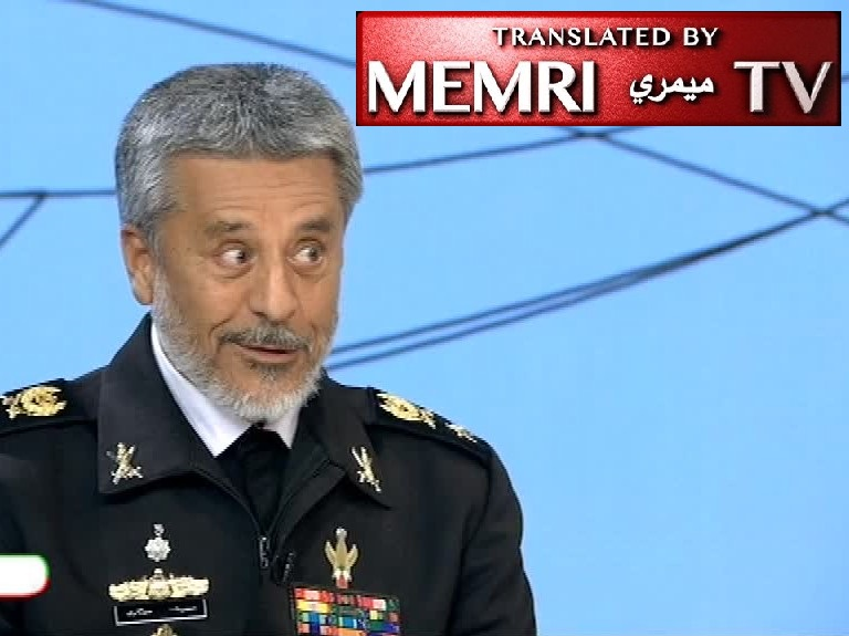 "Fmr. Iranian Navy Commander General Habibollah Sayyari: ""Captain Phillips"" Inspired by Iranian Operation; We Have Been Present in Int'l Waters Since 2008"