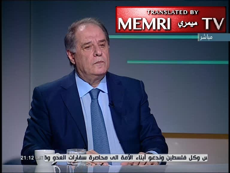 Former Lebanese Minister Sejaan Azzi: Forget about the Right of Return - We Should Either Repatriate Palestinian Refugees in Lebanon or Disperse Them to Other Countries
