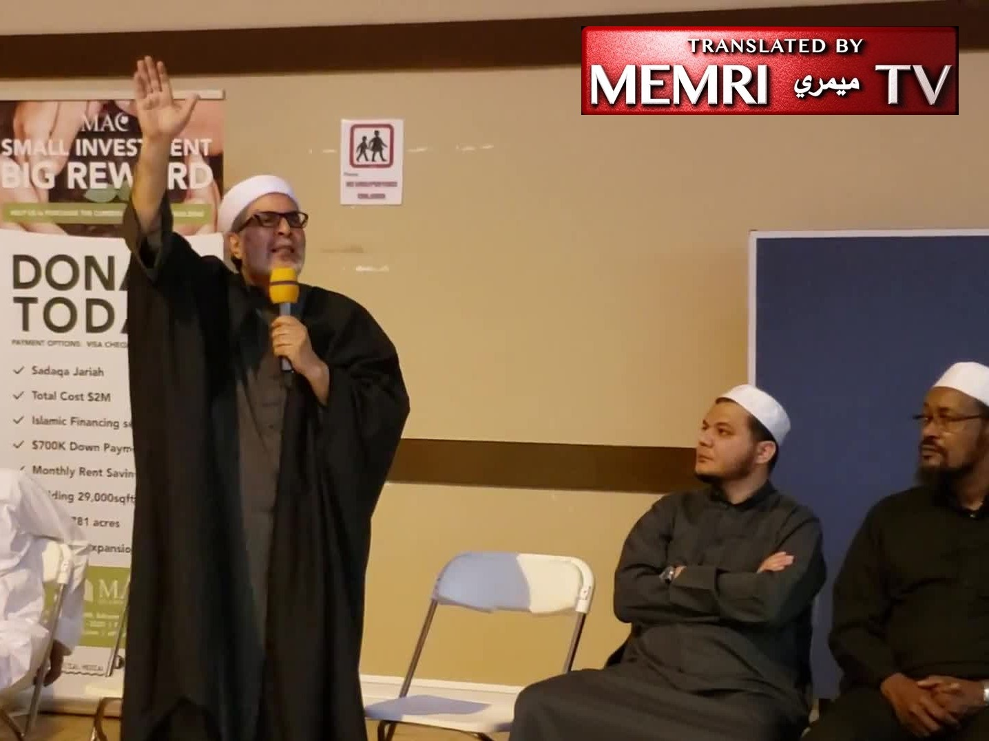 "In Morsi Eulogy, Canadian Imam Shaban Sherif Mady Calls Egyptian President Al-Sisi a ""Dwarf"" and a ""Zionist Collaborator,"" Says Allah Will Punish Him and Send Someone to Avenge the Martyrs"