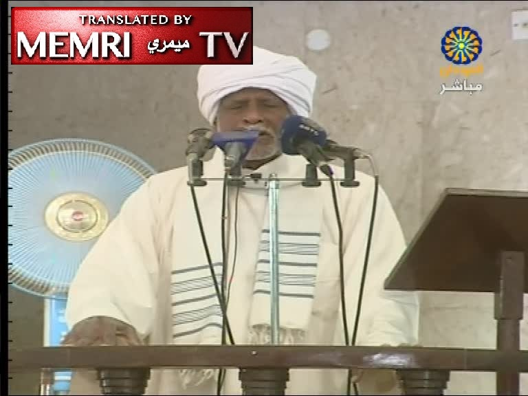 Khartoum Friday Sermon by Sheikh Muhammad Tannoun: The Jews Are Behind Every War and Can Only Survive In Corruption and Strife
