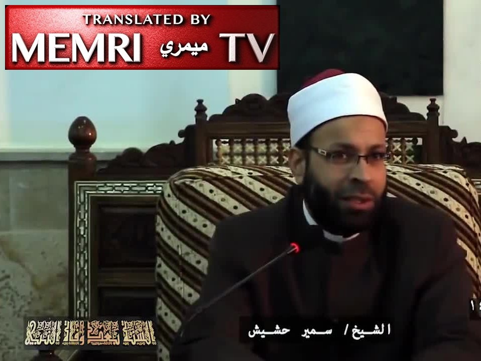 Egyptian Cleric Samir Hashish: No Death Penalty for a Muslim Who Kills a Non-Muslim; The Blood of Muslims Is More Important