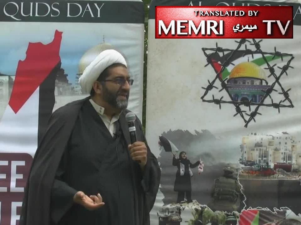 Toronto Quds Day Rally - Sheikh Shafiq Hudda: Israel and the American Empire Will Be Eradicated