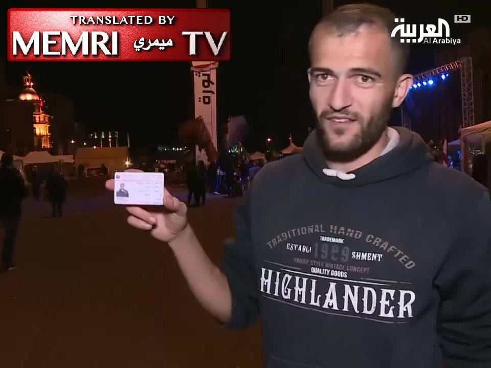 Shiite Protester in Beirut Destroys Hizbullah Membership Card, Complains: We Are Dying of Hunger; Hizbullah and Amal Do Not Care; Their Critics Are Accused of Collaborating with Israel