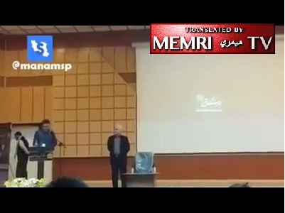 Iranian Student Accuses Senior IRGC Ideologue of Accountability for Killings, Torture in Iran, and of Using Iran's Resources to Arm Hizbullah and Assad