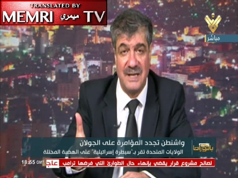 Syrian Analyst Taleb Ibrahim: We Welcome War to Annihilate Zionist Enemy