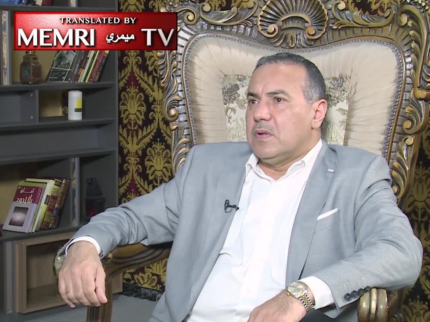 Assistant Chairman of Iraqi PMU Thamir Al-Tamimi: Political Islam Destroyed Iraq, Which Can Only Be Ruled by Secularism, Separation of Religion and State