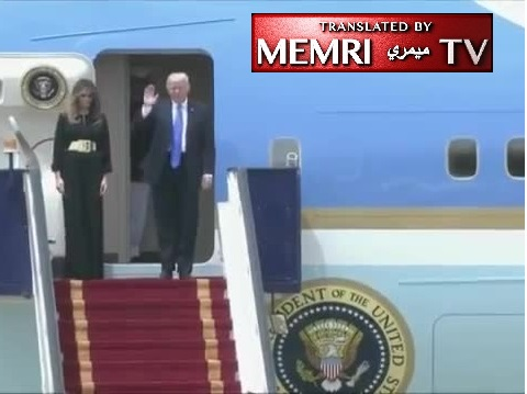 Russian TV Satire on Trump's ME Visit: Melania's Bottom for $280 Billion