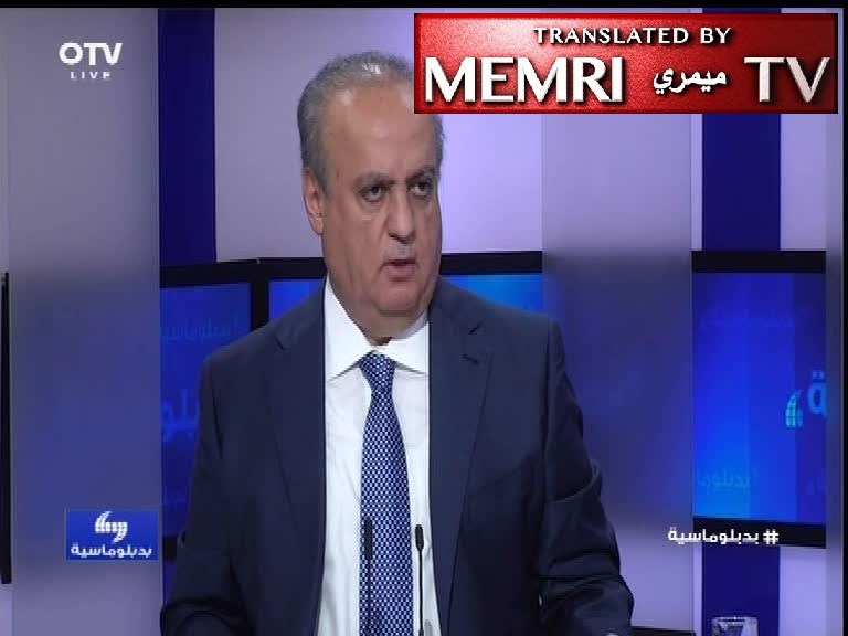 Former Lebanese Minister Wiam Wahhab: Turkey Is an Occupier and an Enemy