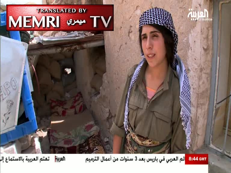 TV Report on Female Yazidi Fighters: We Are Not Afraid, It Is Our Duty to Liberate Our Land