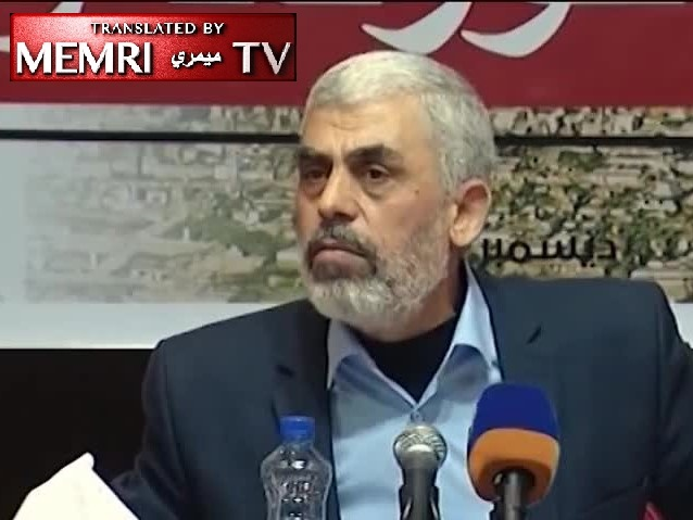 Hamas Leader Yahya Sinwar: Qassem Soleimani Contacted Us, Pledged to Place IRGC Capabilities at Our Disposal