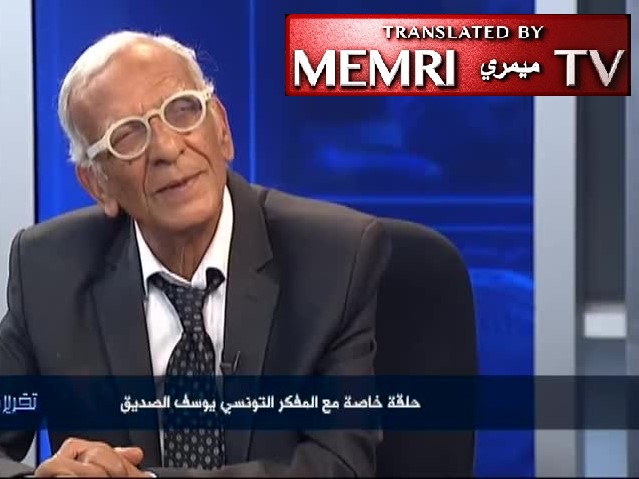 Paris-Based Tunisian Philosopher Youssef Seddik: Our History Is a Pack of Lies; Every Muslim Believes that Planet Earth Must Become Muslim