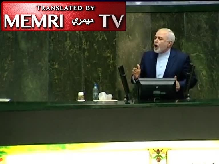 Iranian FM Zarif Defends the JCPOA in the Iranian Majlis: Criminal U.S. Regime Backed Out; It Was Not My Decision in the First Place