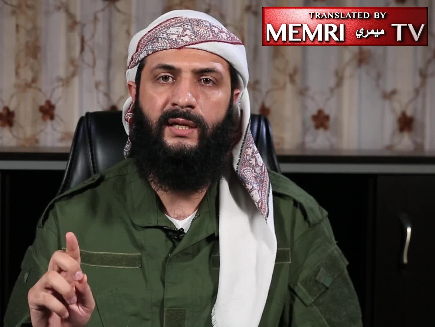 Hay'at Tahrir Al-Sham Leader Abu Muhammad Al-Joulani in Eid Al-Adha Address: We Will Not Surrender to the Criminal Regime or Compromise on Our Weapons