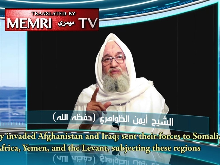 Al-Qaeda Leader Ayman Al-Zawahiri Appeals in Audio ‎Recording for Unity among Mujahideen, Warns against ‎Compromising with U.S., Acknowledges Failure of Arab ‎Spring