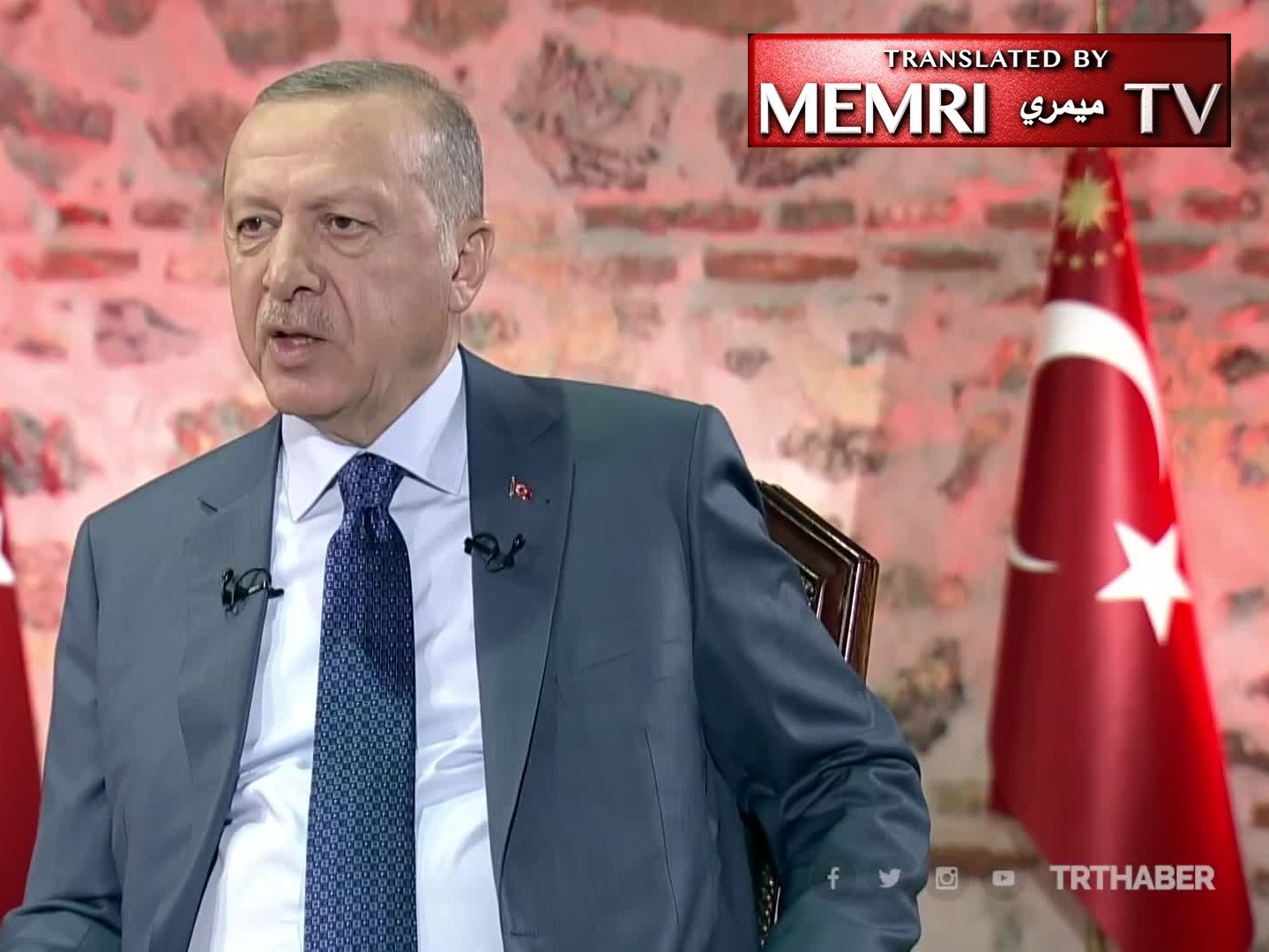 Turkish President Erdoğan: Northern Syria Suitable For Arabs, Not Kurds, Because Those Areas 'Are Desert Regions'