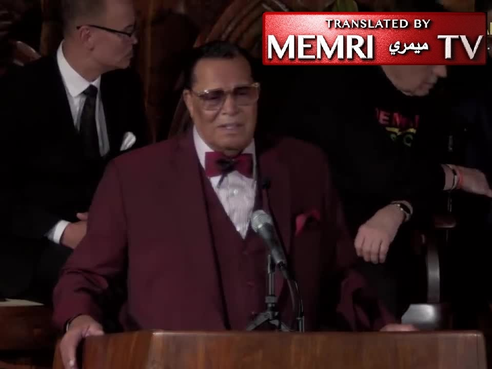 "Louis Farrakhan Responds to Social Media Ban: Satanic Jews Are Mad I Exposed Their Hatred of Jesus; Catholic Priests Rape Little Boys Because of ""Talmudic Influence""'"