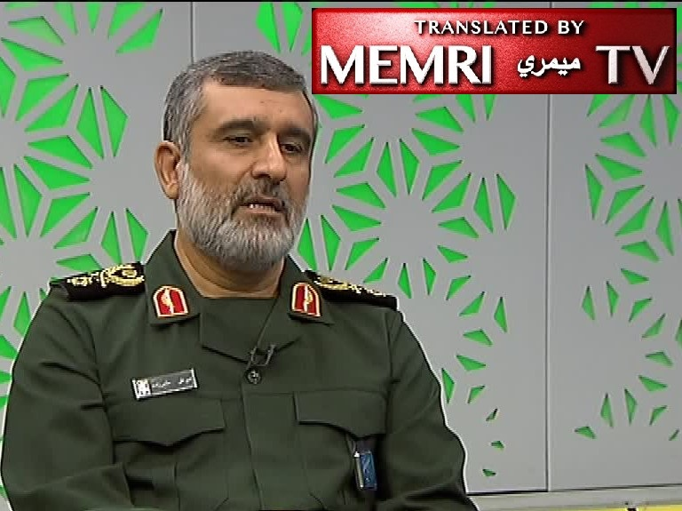 Gen. Amir Ali Hajizadeh, Commander of IRGC Aerospace Force Reviews U.S. Bases in the Region: We Can Strike the Americans Anywhere, They Are