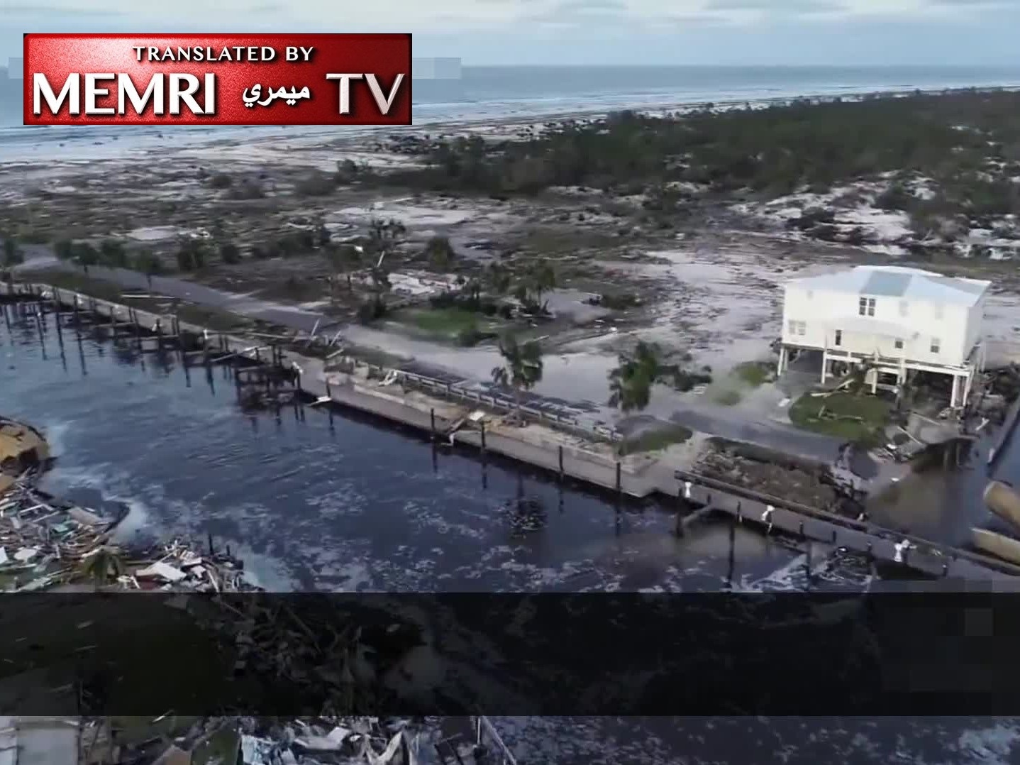 Pro-ISIS Video Depicts Hurricane Michael as Divine Punishment ofthe U.S.