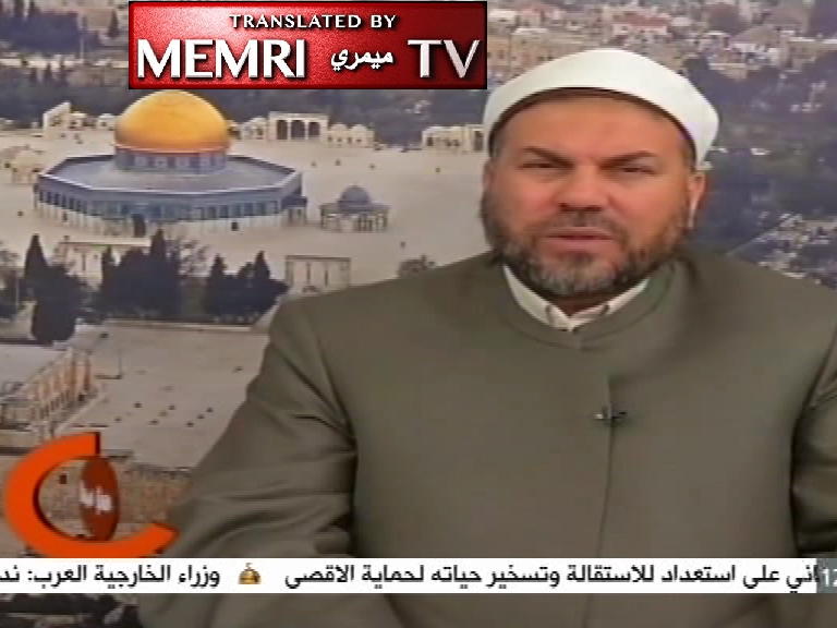 Palestinian Cleric 'Imad Hamatu on PA TV: The Jews Are the Root of Envy in This World