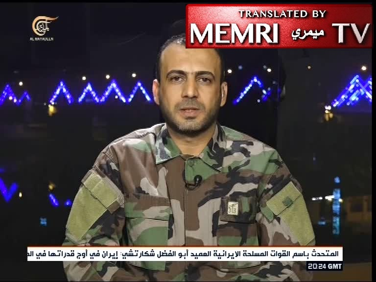 Iraqi Hizbullah Brigades Spokesman Jaafar Al-Husseini: U.S. Forces in Iraq Are Legitimate Targets
