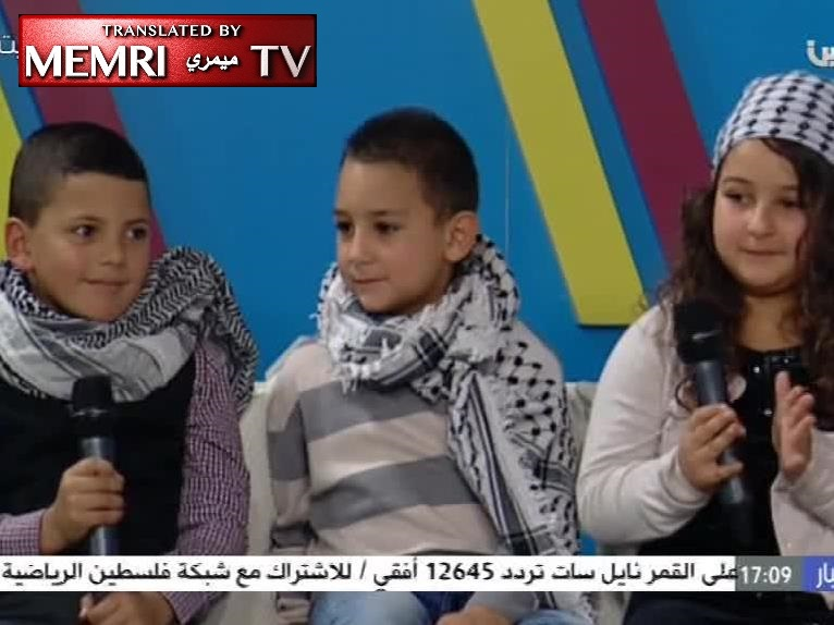 "Children on PA TV: The Jews Poisoned Arafat; ""Millions of Martyrs March upon Jerusalem"""