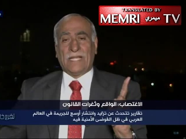 Jordanian MP Mahmoud Al-Kharabshe: It Is in the Rape Victim's Best Interest to Be Married off to Her Rapist