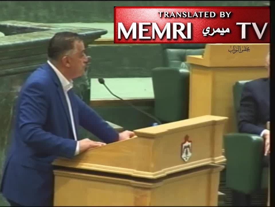 Jordanian MP Muhammad Al-Zahrawi: The West Bank Must Come Under Hashemite Banner; The Plundering Jews Are Prophet Slayers