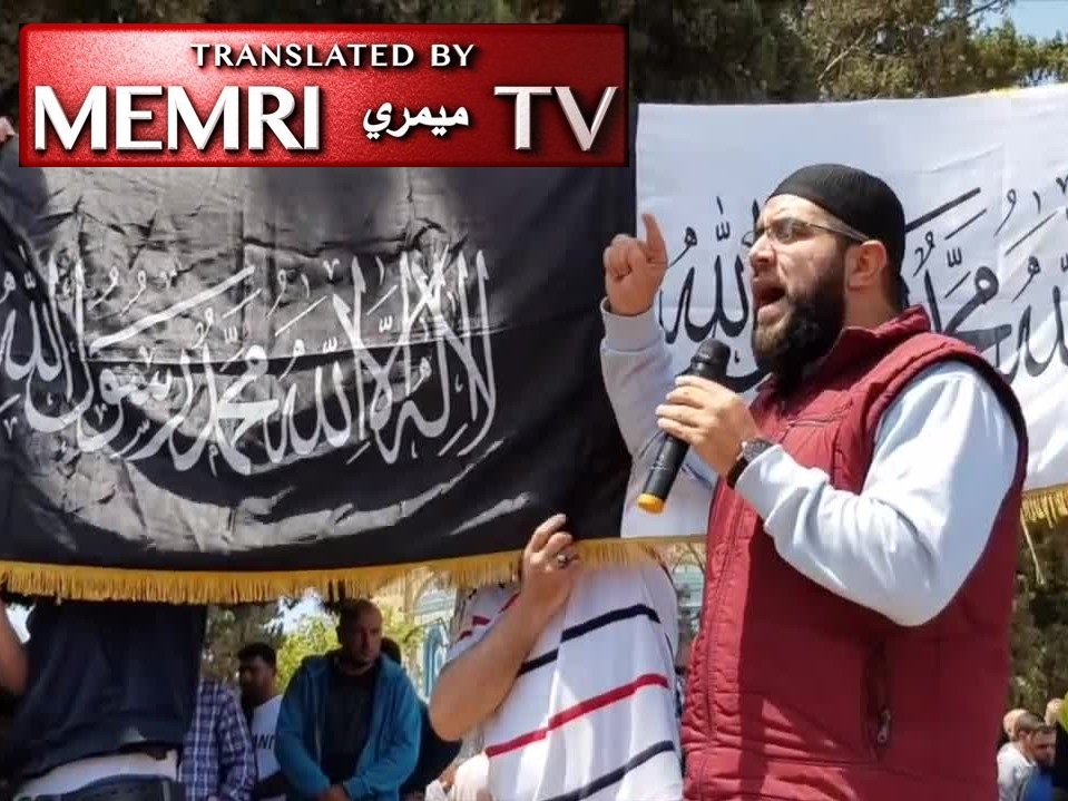 "Al-Aqsa Mosque Address by Cleric Nidhal Siam: Muslims Are ""Time-Bombs"" Waiting for the Call to Jihad"
