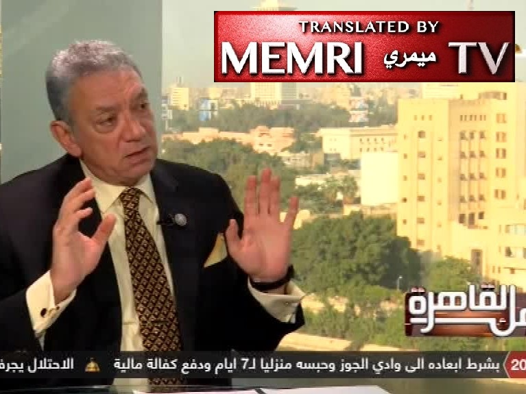 Egyptian Ambassador Rif'at Al-Ansari, Former Diplomat at Tel Aviv Embassy: 50,000-Strong Media