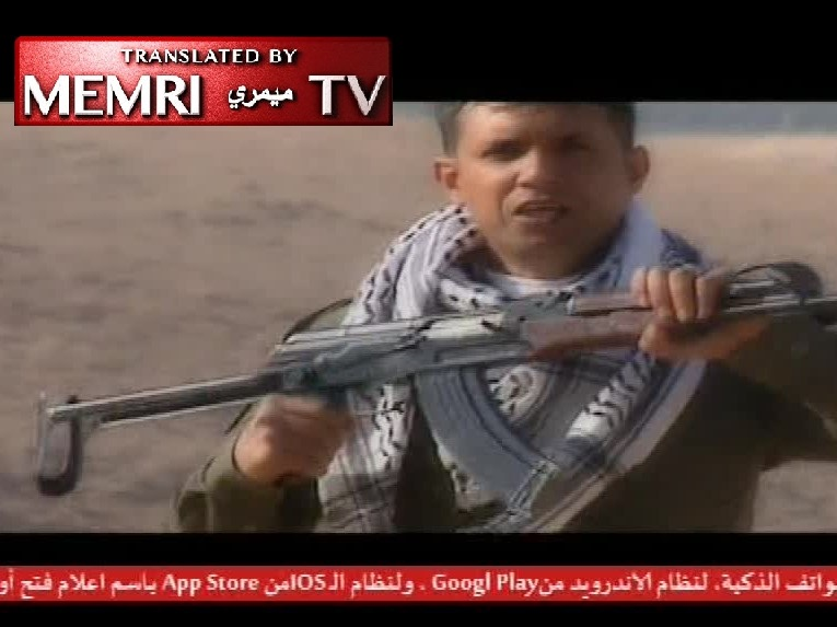 Militant Song on West Bank Pro-Fatah TV Channel: