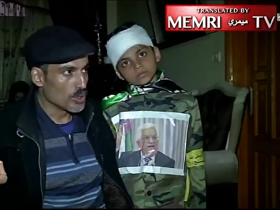 PA TV Reports on Wounded Child Participating in Gaza Return March: We Love President Mahmoud Abbas
