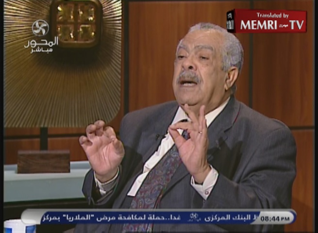 Former Egyptian Housing Minister Hassaballah El Kafrawi: The Jews Behind 9/11, Arab Spring, and Sadat's Assassination