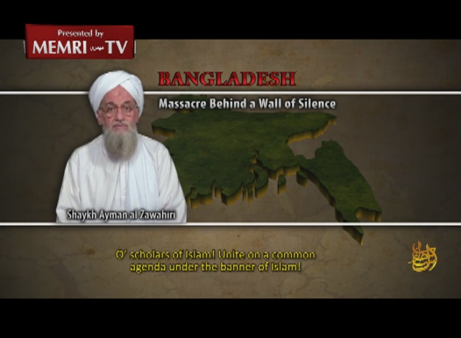 Al-Qaeda Leader Al-Zawahiri Calls For Uprising In Bangladesh, Incites Against India