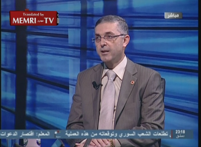 Commentaries on Syria TV: Saudi Rulers Scumbags, Monkeys, Sons of Whores
