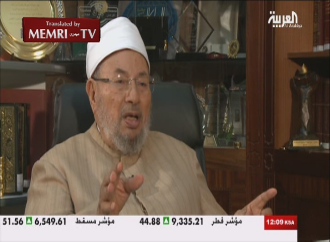 Sunni Scholar Al-Qaradhawi: Saudi Clerics Were Right about Hizbullah and I Was Wrong; King Abdullah a Dear Friend of Mine