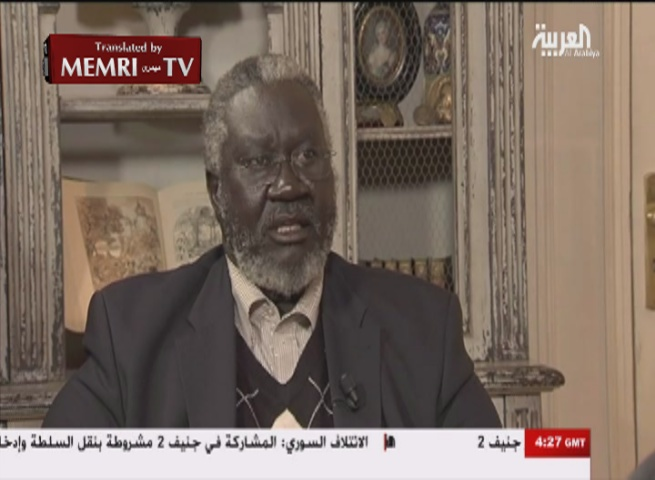 Sudan Revolutionary Front Leader General Malik Agar: If We Assume Power in Sudan, We May Establish Relations with Israel