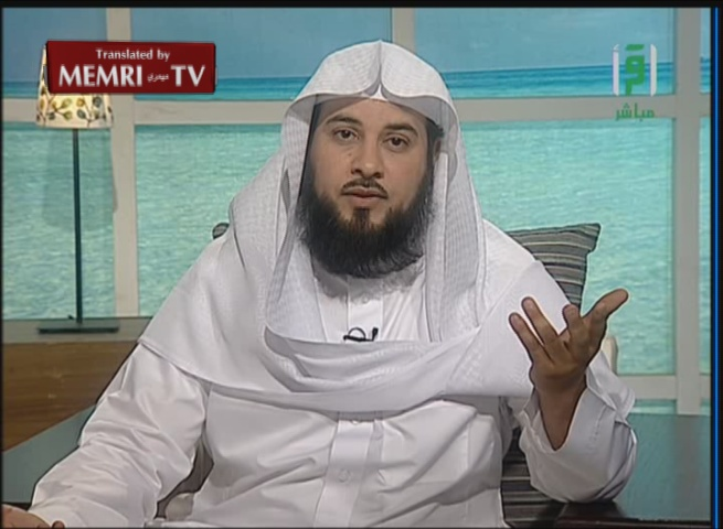 Saudi Cleric Sheik Muhammad Al-'Arifi Calls for Jihad and Says: It Is Enough to Gesture toward the Jews with Your Stick in Order to Discipline Them