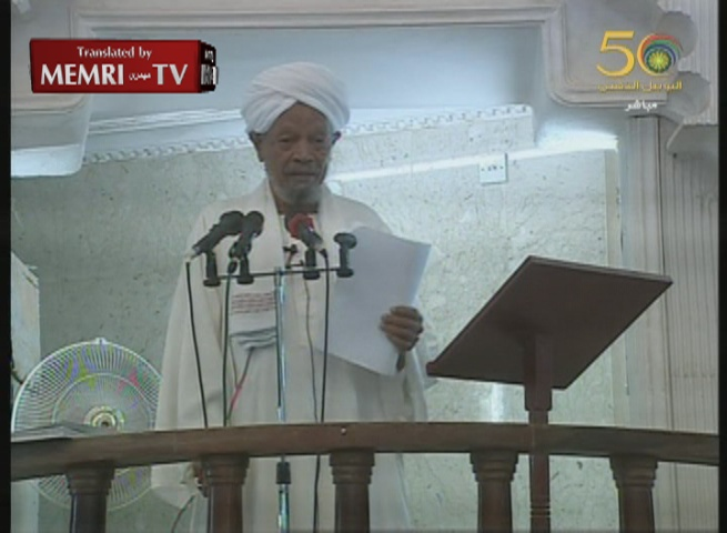 Sudan Friday Sermon: Israel Behind Boston Bombings, Iran Earthquake