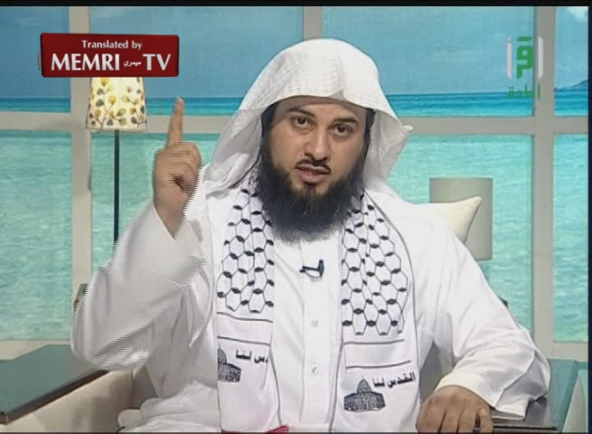 Saudi Cleric Muhammad Al-Arifi: Israeli Soldiers Too Scared to Leave Their Tanks to Urinate or Defecate; Palestine Will Be Liberated Through Force, Not Negotiations