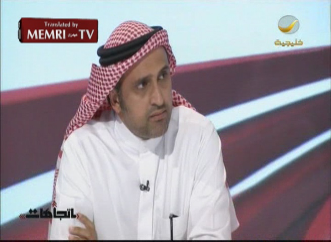 Saudi Writer Abdullah Hamidaddin: Israel Does Not Pose a Threat to Saudi Arabia, but Iran Does