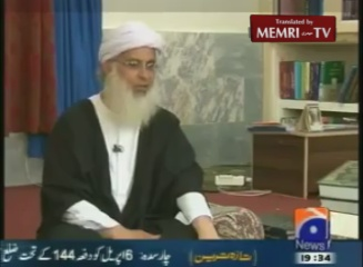 Pakistani Cleric Maulana Abdul Aziz Justifies Keeping Weapons in Islamabad's Mosque